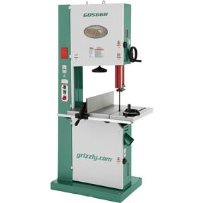 "21"" Super Heavy-Duty 3 HP Bandsaw with Motor Brake"