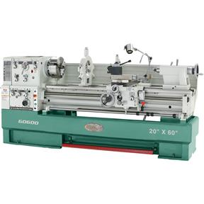"20"" x 60"" 3-Phase Big Bore Metal Lathe"