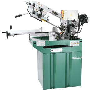 "7"" x 8-1/4"" 1 HP Swivel Metal-Cutting Bandsaw"