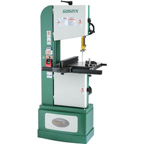 "13-1/2"" 1-1/4 HP 3-Phase Vertical Wood/Metal Bandsaw"