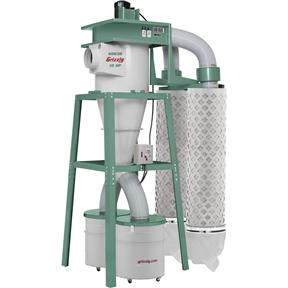 10 HP 3-Phase Cyclone Dust Collector