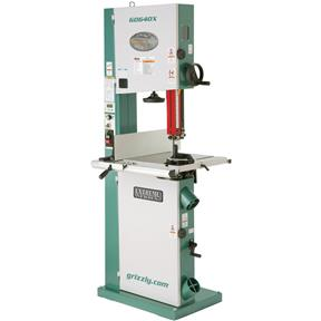 "17"" 2 HP Metal/Wood Bandsaw w/Inverter Motor"
