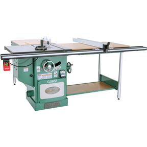 "10"" 3 HP 220V Heavy Duty Cabinet Table Saw with Riving Knife"