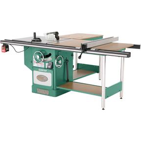 "10"" 5 HP 3-Phase Heavy-Duty Cabinet Table Saw with Riving Knife"
