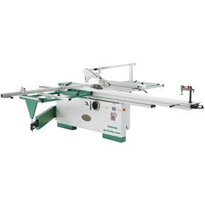 "12"" 7-1/2 HP 3-Phase Sliding Table Saw with Scoring Blade Motor"