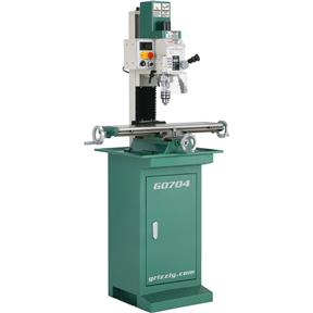"""7"""" x 27"""" 1 HP Mill/Drill with Stand"""