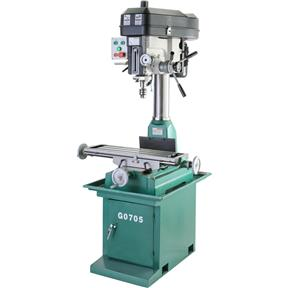 "8"" x 29"" 2 HP Mill/Drill with Stand"