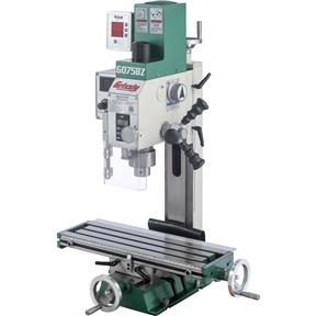 "6"" x 20"" 3/4 HP Mill/Drill with DRO"