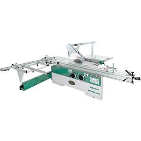 "14"" 10 HP 3-Phase Sliding Table Saw with 124"" Cutting Capacity"