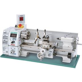 8' x 16' Variable-Speed Lathe with DRO