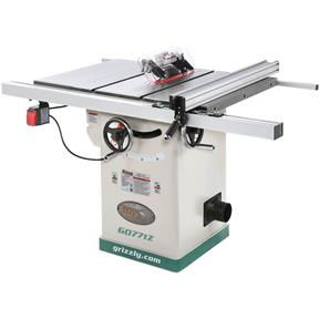 "10"" 2 HP 120V Hybrid Table Saw with T-Shaped Fence"