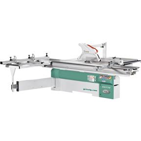 "14"" 10 HP 3-Phase Sliding Table Saw with 126"" Cutting Capacity"