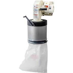 1 HP Wall-Mount Dust Collector with Canister Filter