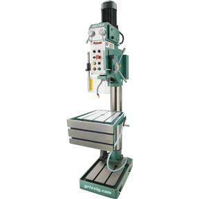 "27-1/2"" Heavy-Duty Drill Press with Auto-Feed, Tapping and L-Table"