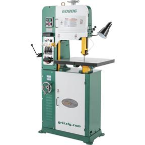 "14"" 1-1/2 HP Variable-Speed Vertical Metal-Cutting Bandsaw"