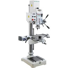 "20-3/4"" Gearhead Drill Press With Cross-Slide Table"