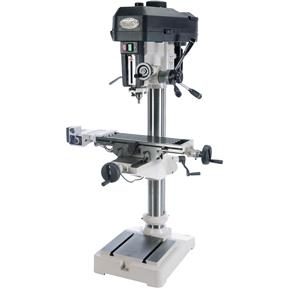 "16"" Drill Press with Cross-Slide Table and Power Feed"