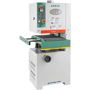 "15"" 5 HP Open-End Wide-Belt Sander"