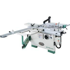 "12"" 7-1/2 HP 3-Phase Compact Sliding Table Saw"
