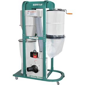 1.5 HP Quiet Cyclone Dust Collector
