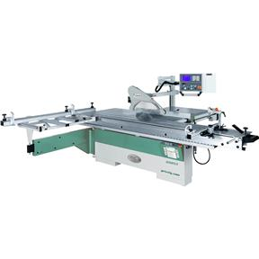 "14"" 10 HP 3-Phase Sliding Table Saw with DRO and CNC Fence"