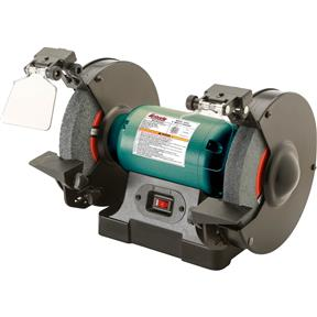 "8"" Bench Grinder with LED Lights"