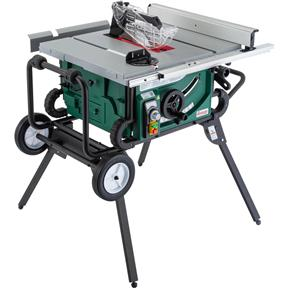 "10"" 2 HP Portable Table Saw with Roller Stand"