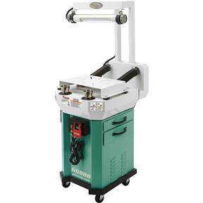 Deluxe Buffer Grinder Stand and Workstation