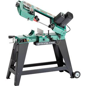 """4"""" x 5-1/2"""" Variable-Speed Metal-Cutting Bandsaw"""
