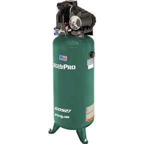 60-Gallon 3.7 HP Stationary Air Compressor