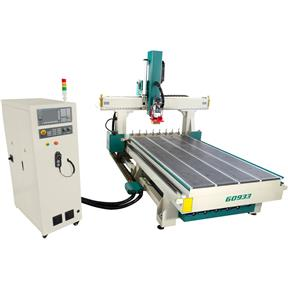 4' x 8' 4 Axis CNC Router w/ Vacuum Table & Linear Tool Changer