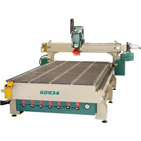 5' x 10' CNC Router w/ Vacuum Table & 8-Position Rotary Tool Changer