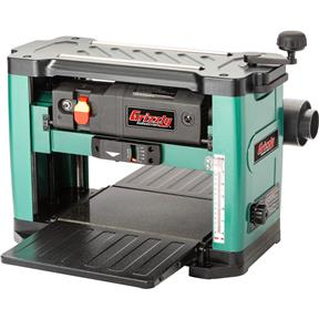 """13"""" 2 HP Benchtop Planer With Helical Cutterhead"""