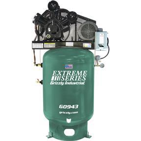 120-Gallon 10 HP Extreme Series Air Compressor