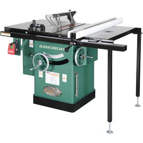 "10"" 5 HP 240V Cabinet Table Saw with Built-in Router Table"