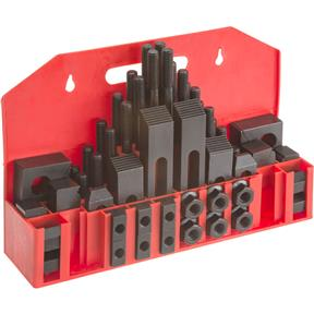 "58-pc. Clamping Kit for 5/8"" T-Slots"