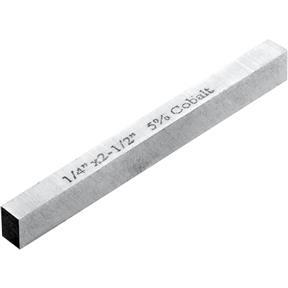 "HSS Square Tool Bits - 1/4"" x 2-1/2"" L"