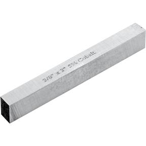 "HSS Square Tool Bits - 3/8"" x 3"" L"