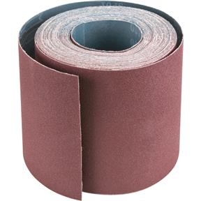 "6"" x 50' A/O Sanding Roll 100-X Grit, Cloth"