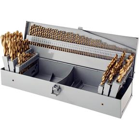 TiN Coated 115 pc. Drill Bit Set
