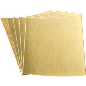"""4-1/2"""" x 5-1/2"""" A/O Sanding Sheet 100 Grit H&L, 5 pk."""
