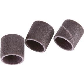 """1/2"""" Dia. x 1/2"""" A/O Hard Sanding Sleeve, 80 Grit, 3 pk."""