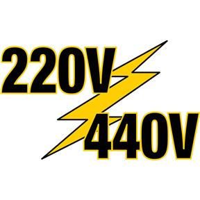 440V Conversion Kit for G0603X