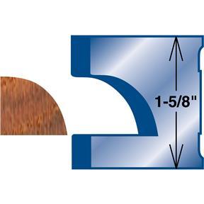 Moulding Knife - Quarter Round