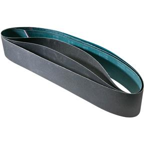 "6"" x 80"" S/C Sanding Belt Assorted 60/80/180 Grit, 3 pk."
