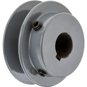 "Single V-Groove Pulley - 2"" Pitch Dia., 5/8"" Bore"