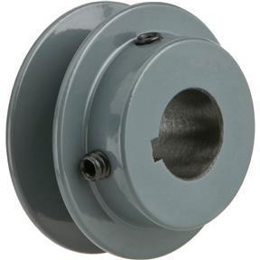 "Single V-Groove Pulley - 2"" Pitch Dia., 3/4"" Bore"