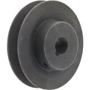 "Single V-Groove Pulley - 3"" Pitch Dia., 5/8"" Bore"