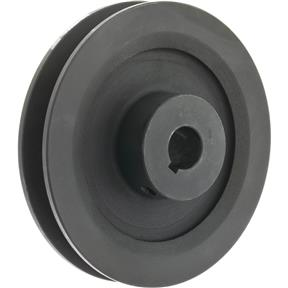 """Single V-Groove Pulley - 4"""" Pitch Dia., 5/8"""" Bore"""