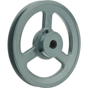 "Single V-Groove Pulley - 6"" Pitch Dia., 5/8"" Bore"